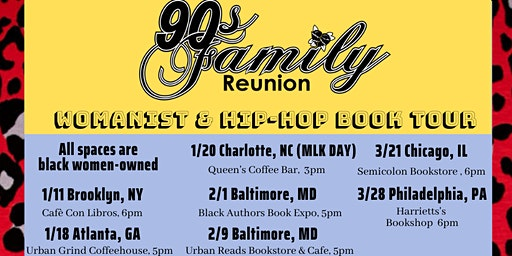 '90s Family Reunion Book Tour - Philadelphia