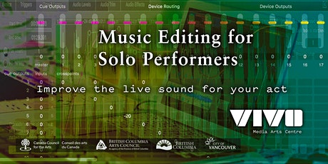 Music Editing for Solo Performers tickets