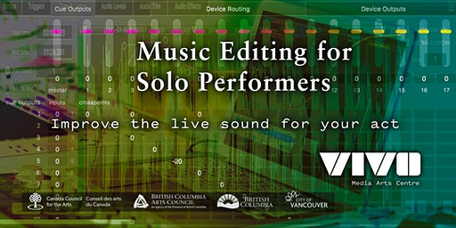 Music Editing for Solo Performers