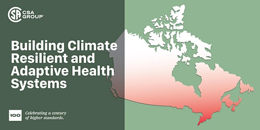Building Climate Resilient and Adaptive Health Systems