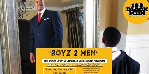 """BOYZ 2 MEN"" 100 BLACK MEN OF AUGUSTA MEET 'N GREET"
