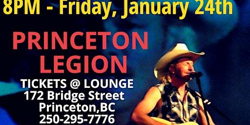 Aaron Halliday Live @ Princeton Legion