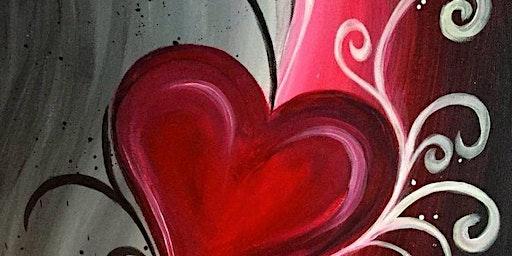 Valentine Paint Night at Back Nine Tavern