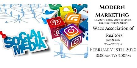 Modern Marketing Comes to Waco, TX! tickets