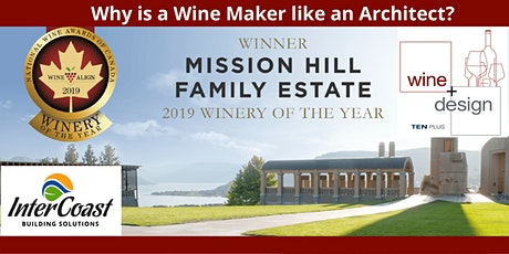 Why is an Architect like a Winemaker tickets