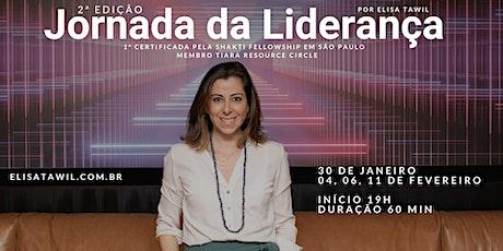 Jornada da Liderança por Elisa Tawil | 2ª edição bilhetes