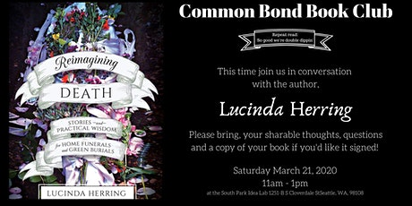 Common Bond Book Club: Reimagining Death tickets