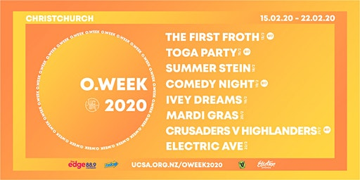 UCSA O.Week 2020 | Combo Tickets