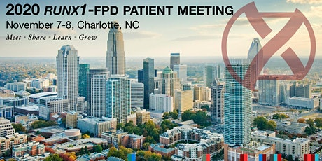 2020 RUNX1-FPD Patient Meeting Charlotte tickets