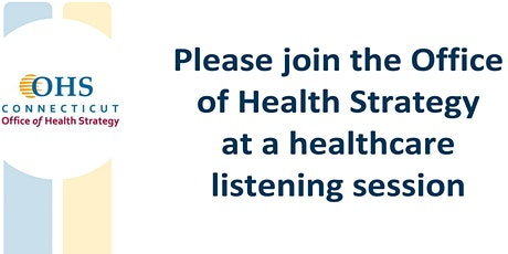 Healthcare Listening Session tickets