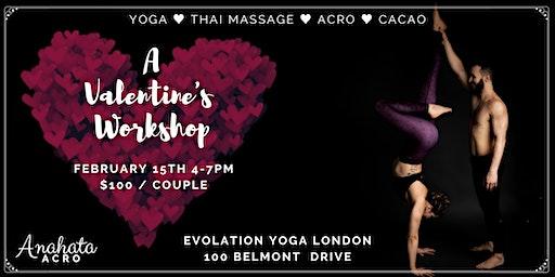 A Lover's Playshop - Couples Yoga, Acro, Thai Massage, Cacao