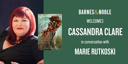 Cassandra Clare discusses CHAIN OF GOLD at Barnes & Noble - Union Square!