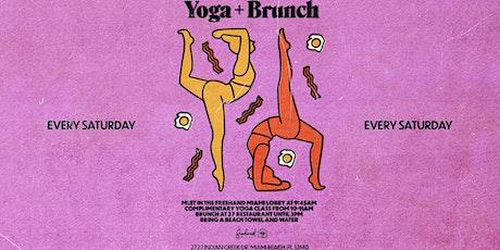 Saturday Morning Detox Yoga tickets