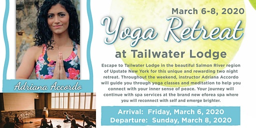 Yoga Retreat at Tailwater Lodge