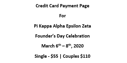 Pike EZ Founder's Day 2020