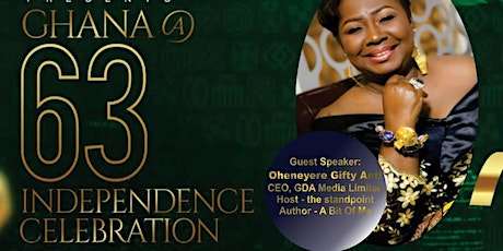 Ghana @ 63 Independence Celebration tickets