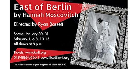 KWLT Presents East of Berlin tickets
