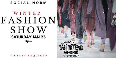 Winter Fashion Show at Social Norm tickets