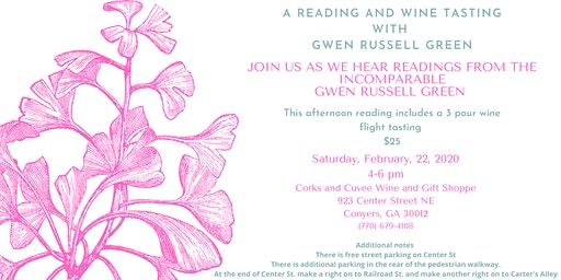 A Reading and Wine Tasting