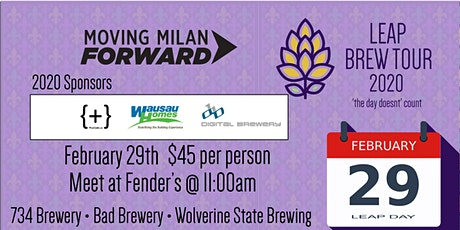 Brew Tour Leap Year tickets