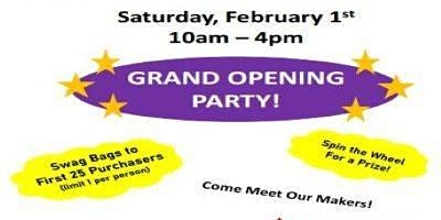 Grand Opening Party! Free to attend!