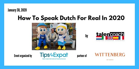 How To Speak Dutch For Real In 2020 tickets