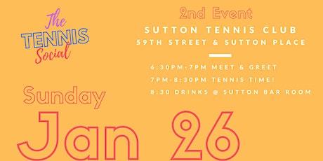Tennis Social - Jan 26 tickets