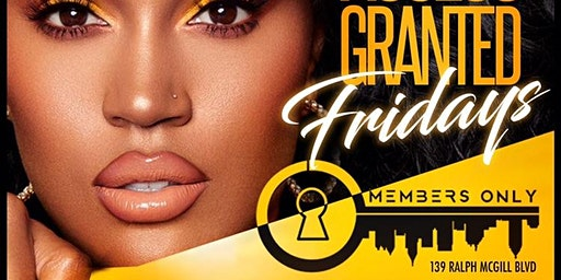 Access Granted Friday at Members Only Lounge