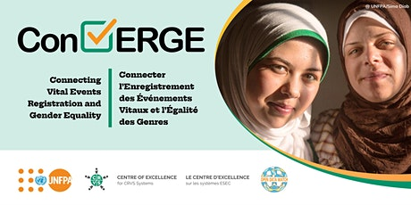 ConVERGE: Connecting Vital Events Registration and Gender Equality billets