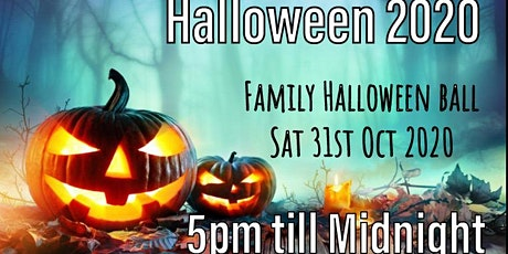 Family Halloween ball tickets