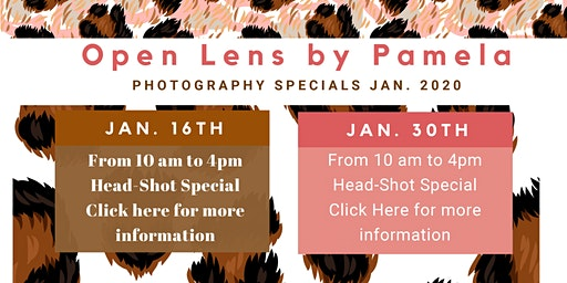 Open Lens by Pamela 2020 Events