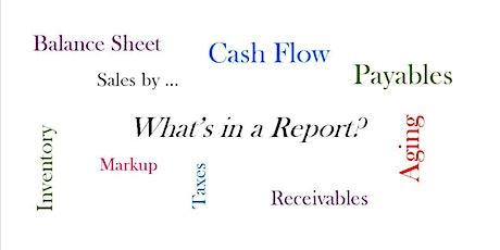 Understanding Business Reports tickets