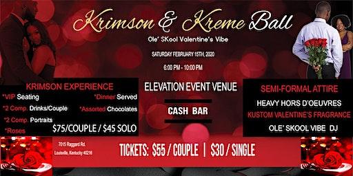 Ole' Skool Krimson & Kreme Ball
