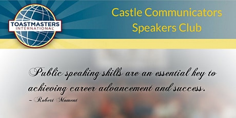 Castle Communicators Toastmasters Club Meeting tickets