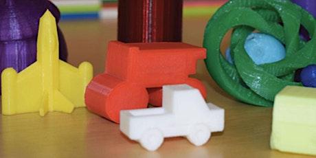Dai forma ai pensieri  Software di modellazione e stampante 3D  7-13 anni biglietti