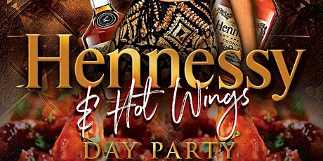 """DDG Entertainment Presents """"Hennessy & Hot Wings"""" All Black Day Party tickets"""