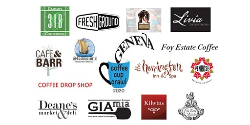 Geneva Coffee Cup Crawl 2020 - WE'VE  SOLD OUT THIS YEAR, SEE YA NEXT YEAR