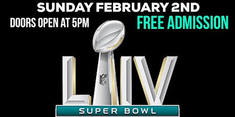 Free Super Bowl viewing Party tickets