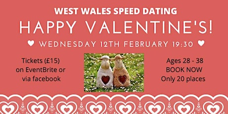 West Wales Speed Dating tickets