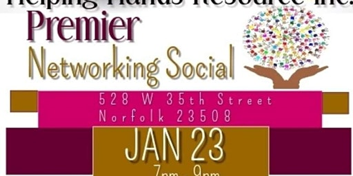 Helping Hands Resource, Inc. presents Premier Networking Social