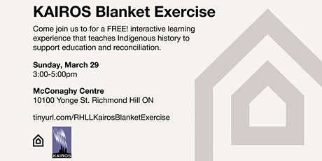 KAIROS Blanket Exercise - March 29, 2020 tickets