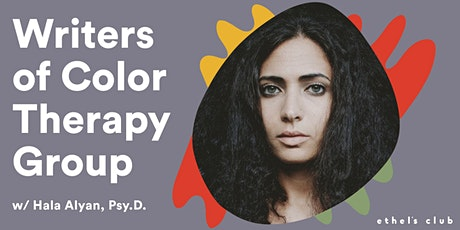 Group Therapy for Writers of Color tickets