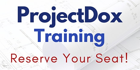 ProjectDox Training tickets