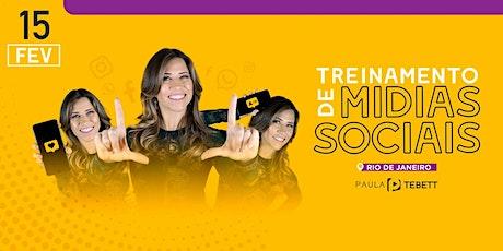 Treinamento Mídias Sociais - Rio de Janeiro ingressos