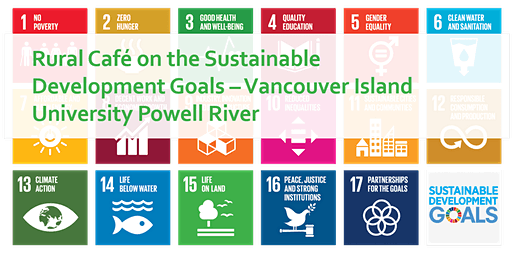 VIU Powell River - Rural Cafe on Sustainable Development Goals