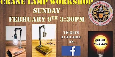 Crane Lamp Workshop tickets