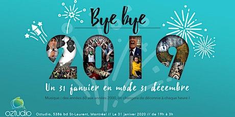 Soirée Bye bye 2019 @Oztudio tickets