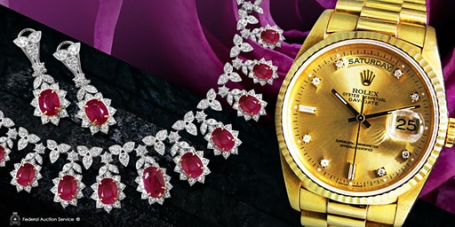 Mississauga 01.19.2020 1pm- Fine Jewellery & Swiss Watch Live Auction
