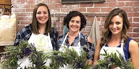 French Herb Grapevine Wreaths at Tualatin Estate Vineyard tickets