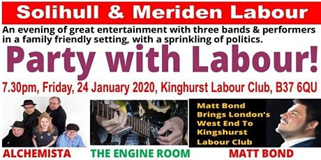 Time To Party With Solihull  Labour tickets